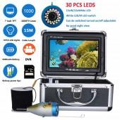 Рыбоискатель MOUNTAINONE Видеокамера  с ИК, LED с картой TF 8 ГБ
