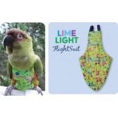 Прогулочный костюм костюм памперс для мелких попугаев размер S