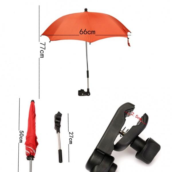 Зонт с эргономическим креплением для колясок