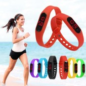 Спортивные силиконовые часы