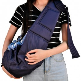 Слинг - сумка через одно плечо для переноски ребенка, очень удобно и надежно