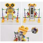 Конструктор «Сделай сам» -  самодвижущийся мини-робот на батарейке.