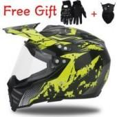 Мотошлем для мотоцикла, квадроцикла и снегохода MTB DOWNHILL