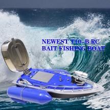 Моторная лодка на радиоуправлении для доставки приманки для рыб Tорнадо 10