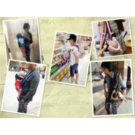 Рюкзак-кенгуру (слинг) с ортопедической спинкой, на 6 положений (в зависимости от возраста малыша)