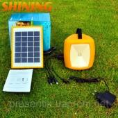 Портативный фонарик с солнечной панелью