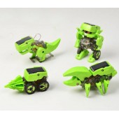 Конструктор динозавр 4 в 1- солнечный робот