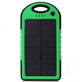 Solar power bank  Внешний аккумулятор на солнечных батареях - Зарядное устройство 5000mah