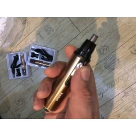 Аккумуляторный триммер для носа, бровей, ушей, шеи Kemei