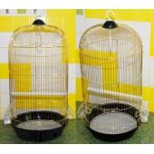 Клетка куполообразная для содержания мелких и средних попугайчиков №3, купить клетку можно у нас!