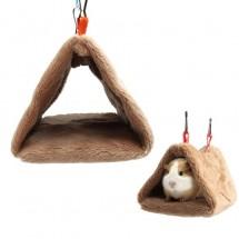 Мягкий теплый домик для попугаев, гнездо для попугаев, гамак пещерка для попугаев, мягкое убежище для птиц
