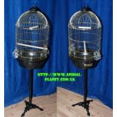 Клетка для средних попугаев на подставке (комплект) №11А