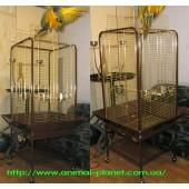 Вольер - клетка для крупных попугаев, приматов, белок, хищных птиц №8