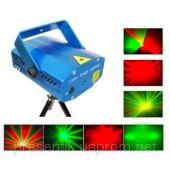 Светодиодный Лазерный Проектор с функцией светового сопровождения рок музыки для наружного и внутреннего использования